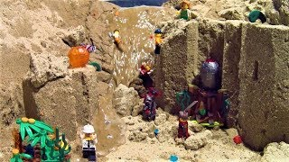 LEGO NINJAGO vs CITY and LEGO DAM BREACH !