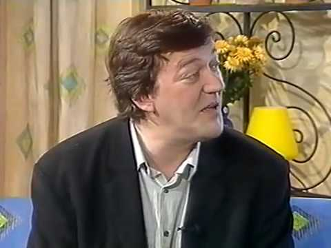 Stephen Fry interview (Wilde - This Morning, 1997)