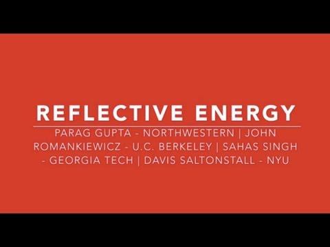 Reflective Energy: Energy Club Best Practices (Presentation at Harvard Business School)