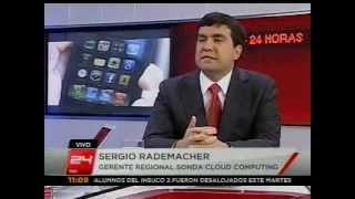 Entrevista Sergio Rademacher Canal 24Horas Agosto 2012