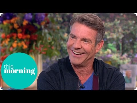 Dennis Quaid Once Used a Terrible English Accent to Sell Newspaper Subscriptions | This Morning