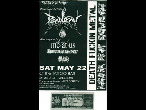 "5-23-99 PROPHECY - ""Tortured By Deceit"" - Tattoo Bar - Fort Worth, TX!"