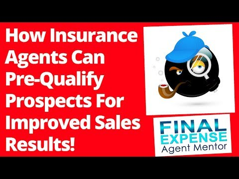 How To Sell Insurance - The Art & Science Of Effective Pre-Qualifying & Fact-Finding