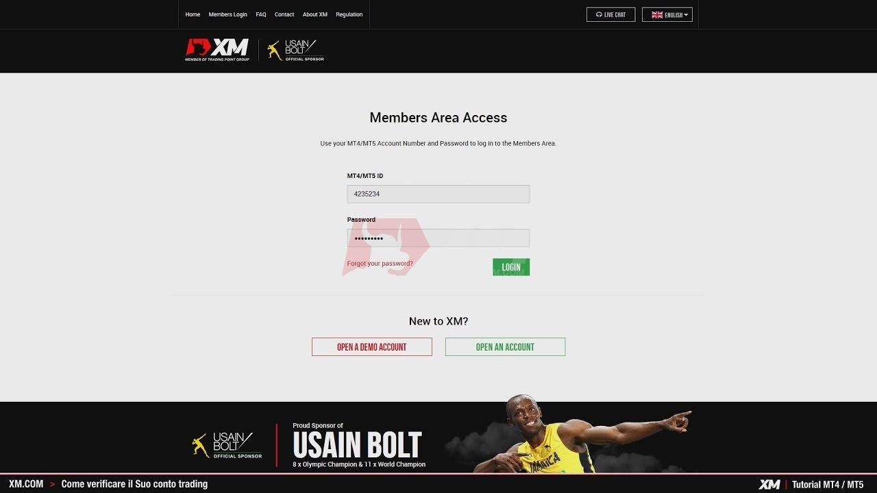 Xm Com Tutorial Mt4 Mt5 Come Verificare Il Tuo Conto Trading