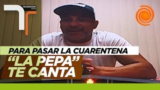 """El karaoke de """"La Pepa"""" Brizuela con El Doce para pasar la cuarentena"""