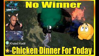 No Winner Chicken Dinner For Today | PUBG MOBILE