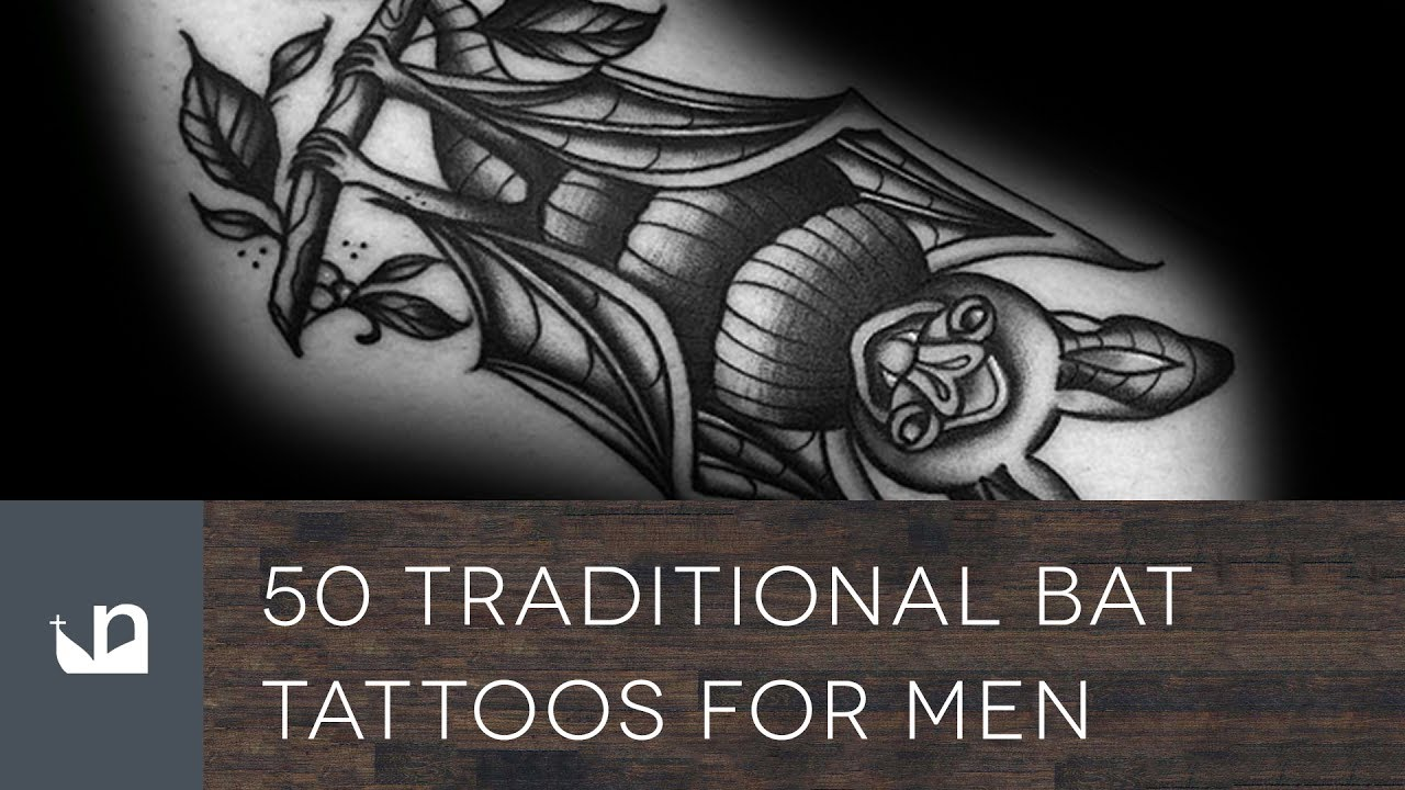 50 Bat Tattoo Designs For Men – Manly Nocturnal Design Ideas