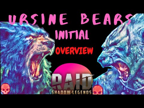 Raid: Shadow Legends - Ursine Bears: Initial Reveiw