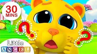 Where is my Lion ROAR?, 5 Little Monkeys Jumping on the Bed  + More Nursery Rhymes by Little Angel