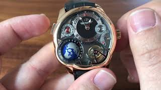 Greubel Forsey GMT REVIEW