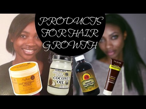 TOP 15 PRODUCTS FOR FAST NATURAL HAIR GROWTH | HOW TO GROW 4A 4B 4C HAIR