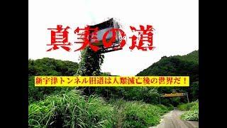 国道113号線 宇津トンネル廃道【新宇津トンネル旧道は人類滅亡後の世界だ!】