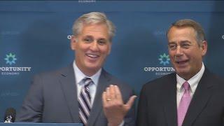 "Kevin McCarthy Ribs John Boehner: ""I Won't Be as Tan"""