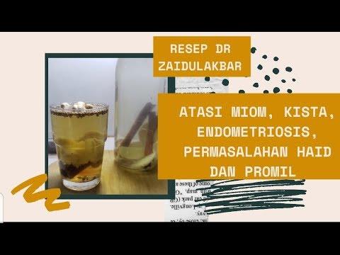 Dr Zaidul Akbar | Resep Detox Rahim Dan Resep Detox Reproduksi Serta Aturan Minum Dan Efeknya|