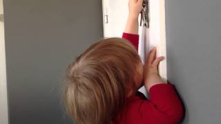 De deur moet op slot!!!