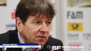 Pressekonferenz - 1. FC Magdeburg gegen SV Meppen 0:0 (0:0) - www.sportfotos-md.de