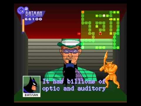 The Adventures of Batman & Robin - Playthrough (SNES): Stage 7 (Riddler)