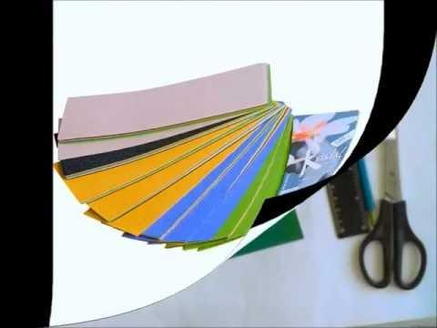 Техника  Iris Folding
