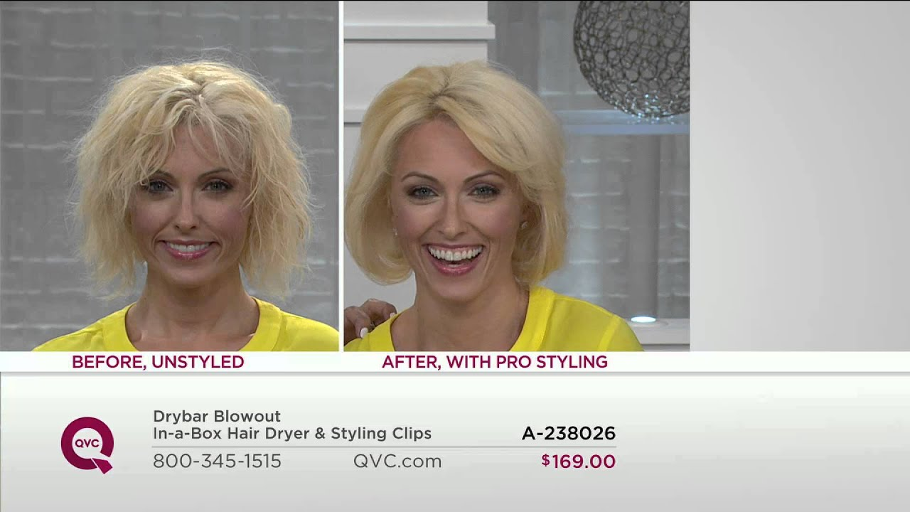 Drybar Blowout In A Box Hair Dryer Styling Clips With Lisa Robertson