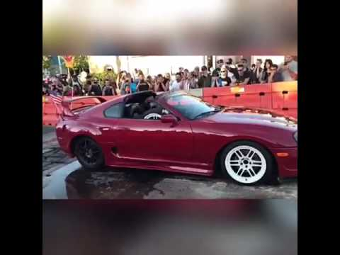 Colored Smoke Tires >> Baby Gender Reveal in Supra with colored smoke tires - YouTube