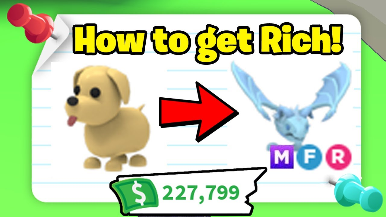 How to BECOME RICH in Adopt Me (Fast & Easy) in 2021!