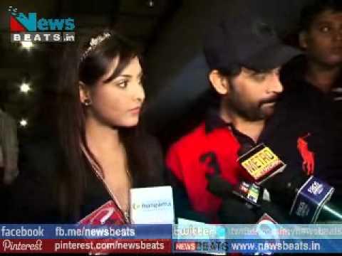 Hot and Sexy Madhu Shalini interview on Bhoot Returns Screening with JD Chakravarthy