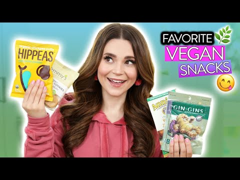 My FAVORITE Vegan Snacks