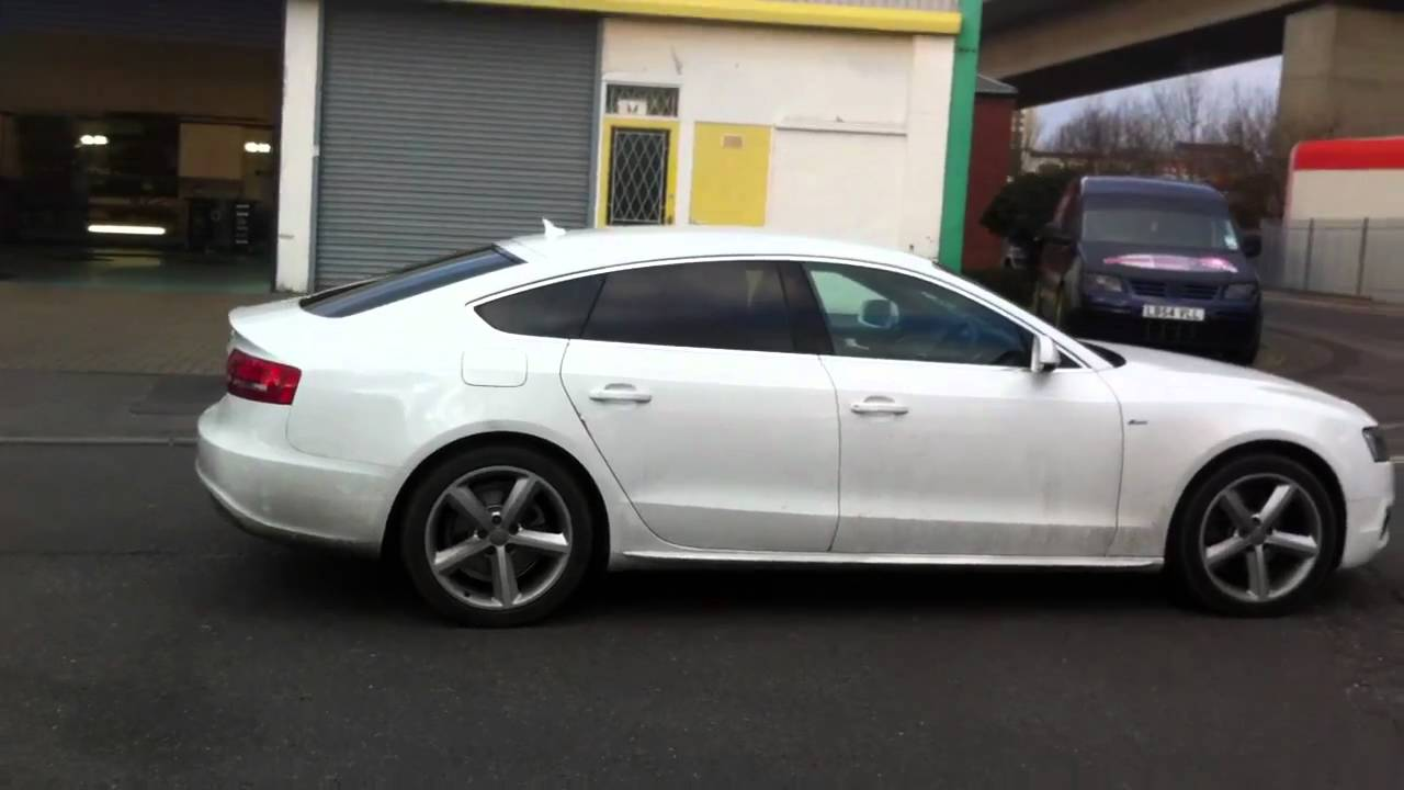 Audi A5 With Medium Tints Youtube