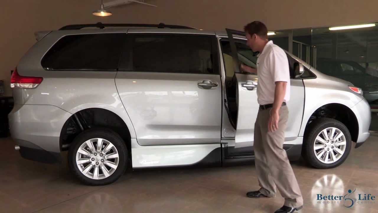 2013 Toyota Sienna Mobility Wheelchair Accessible Van By