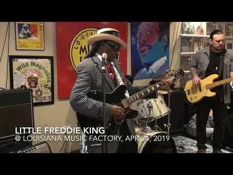 Little Freddie King Live @ Louisiana Music Factory, Apr 24, 2019 Mp3
