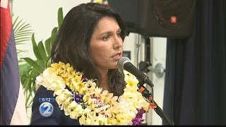 Rep. Tulsi Gabbard holds town hall meeting in Kailua