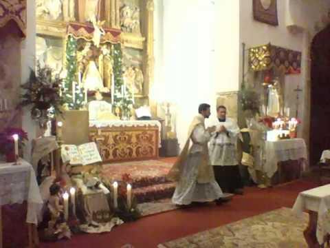 MISa del Gallo  2016 . Santa misa cantada