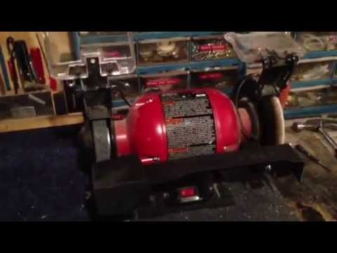 Mower Blade Sharpening Jig Completed Youtube