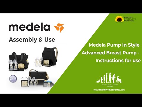 Medela Pump In Style Advanced Breast Pump - Instructions for use