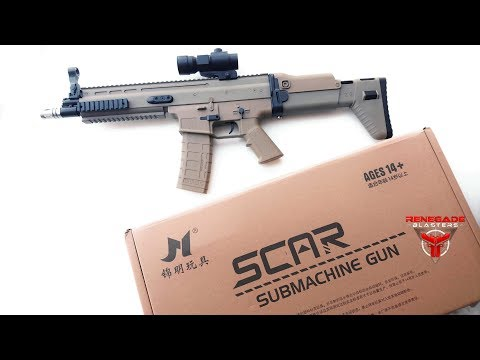 JM SCAR V2 Rifle Gel Blaster - Renegade Blasters - NextGen Toy Guns