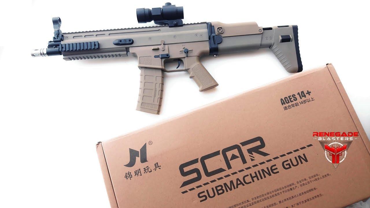 JM SCAR V2 Rifle Gel Blaster - Renegade Blasters - NextGen Toy Guns