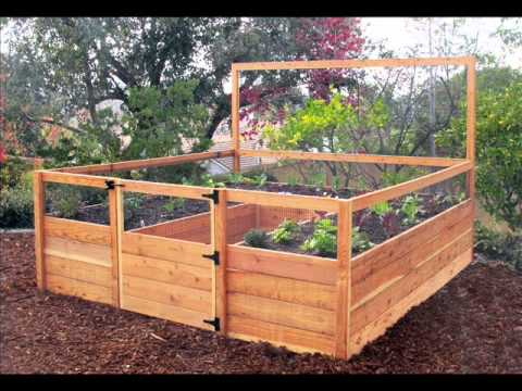 Raised Bed Garden I Raised Bed Garden Design - Youtube