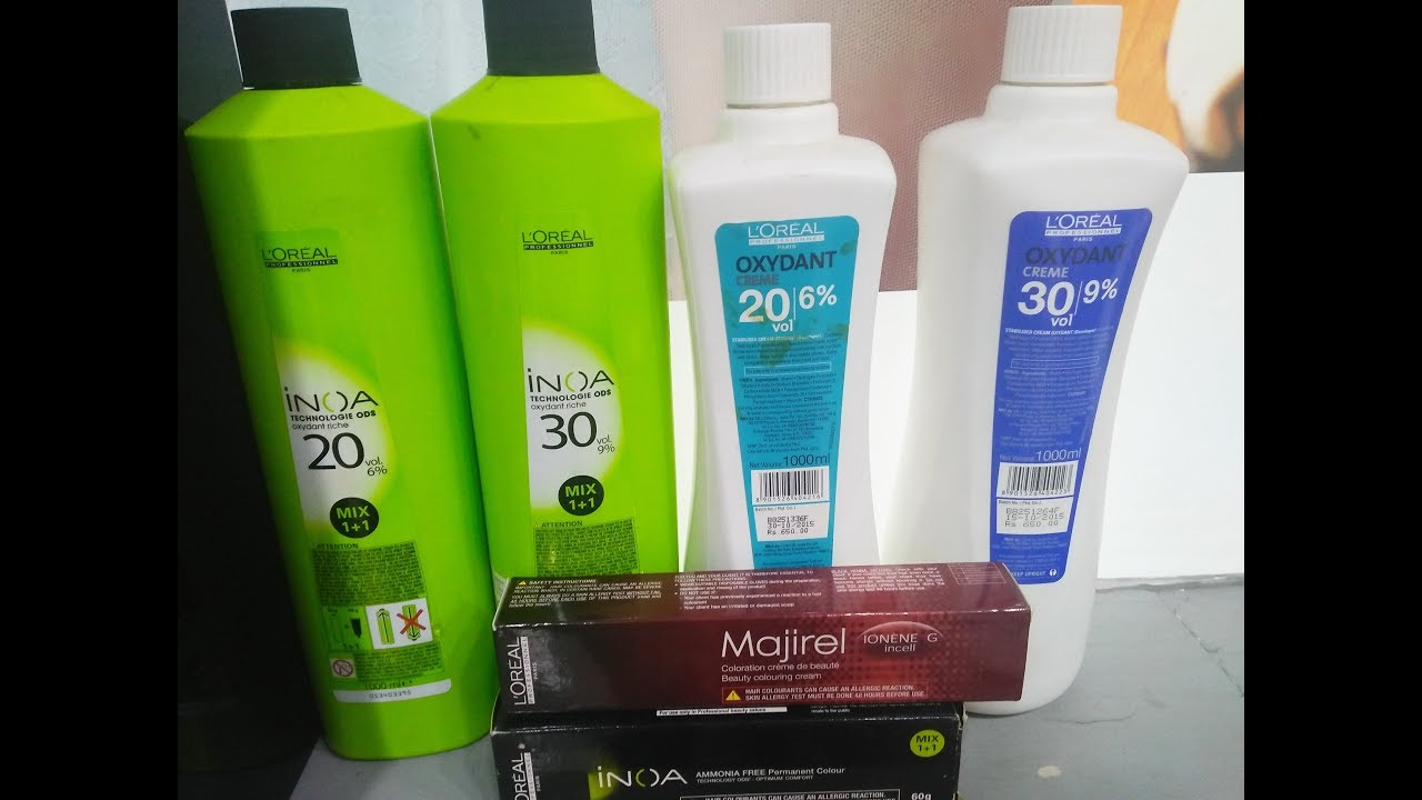Best Hair Colors For Your Hair Mejiral Vs Inoa Loreal Best