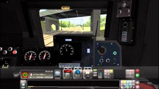 Train Simulator 2014 HD EXCLUSIVE: Amtrak AEM-7 With ACS-64 Physics 8 Car Train Test