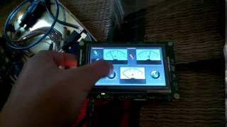 TouchGFX Interaction and Button tutorial - Zaw Win Myat