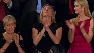 Emotional moment as Navy SEAL honored in Trump