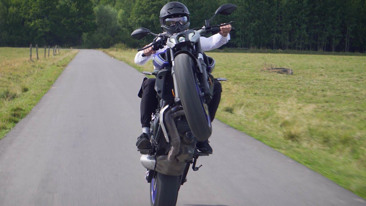 Первый раз на НЕЙКЕД БАЙКЕ! Тест-драйв Yamaha MT 07