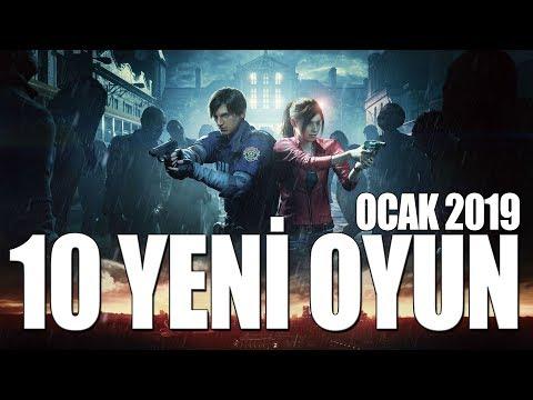 YILIN İLK OYUNLARI // 10 YENİ OYUN (OCAK 2019)