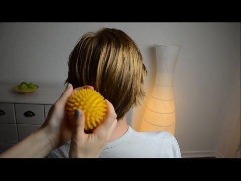 ASMR Binaural Scalp Massage - soft voice!