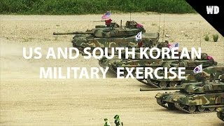 US and South Korean Marines hold joint training exercise in Pohang