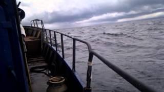 Курильские Острова - в море Видео №11 - качает не по детски(Первые впечатления от небольшого шторма...., 2015-07-21T00:28:03.000Z)