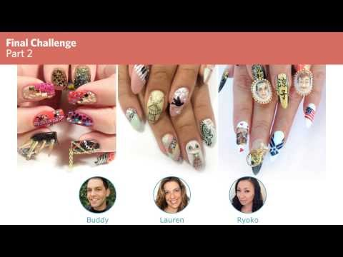 NAILS Next Top Nail Artist Competition Results at ISSE Long Beach
