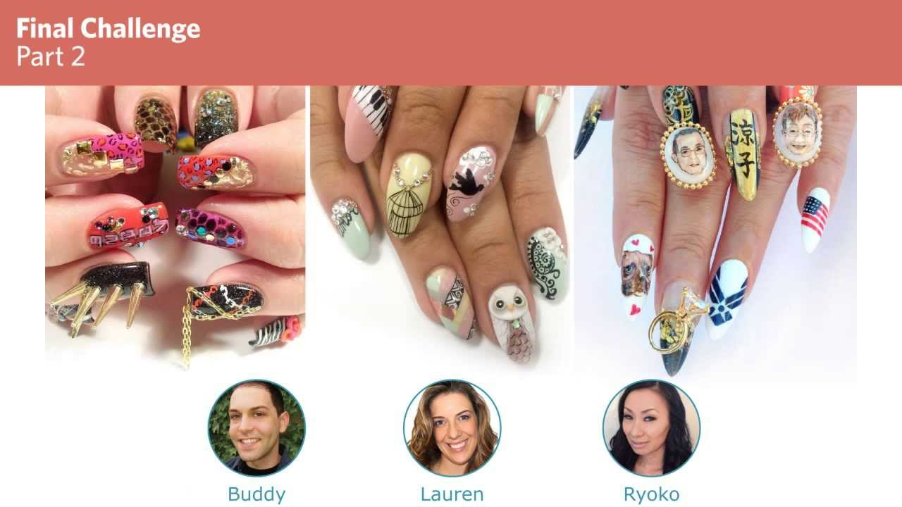 Nails Next Top Nail Artist Compeion Results At Isse Long Beach