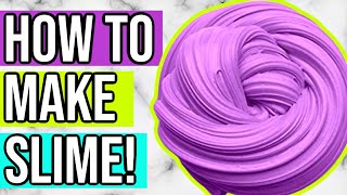 How to Make SLÏME for Beginners! Best EASY Way to Make Slime!
