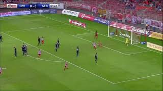 Το γκολ του Λάζαρου εναντιον του Λεβαδειακού (Ολυμπιακος-Λεβαδειακός 1-0)